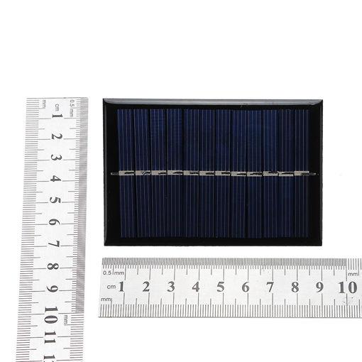 Immagine di 0.6W 6V 90*60*3mm Mini Photovoltaic Epoxy Solar Panel DIY Part