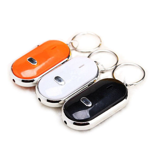Picture of 3pcs Whistle Key Finder Keychain Sound LED With Whistle Claps