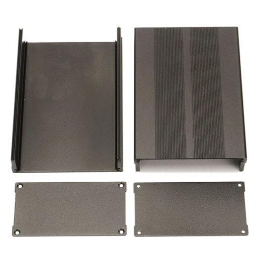 Picture of 150*105*55mm Aluminum Instrument Box PCB Enclosure DIY Electronic Case