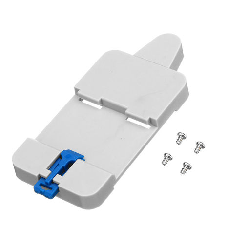 Picture of 10Pcs SONOFF DR DIN Rail Tray Adjustable Mounted Rail Case Holder Solution Module