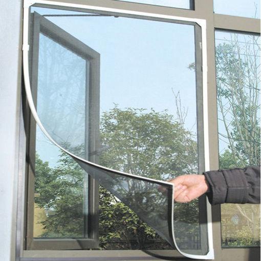 Immagine di Honana WX-318 White Insect Mosquito Door Window Mesh Screen Sticky Nylon Tape Net Window Film
