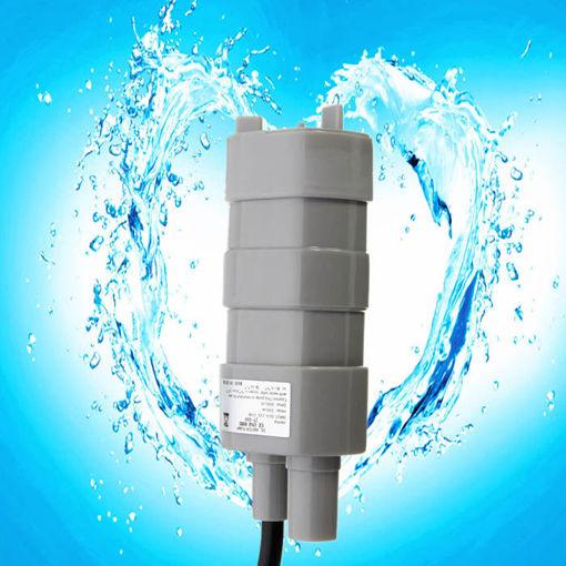 Immagine di 12V 5M Pumping Head Mini Submersible Motor Garden Fountain DC Brush Water Pump