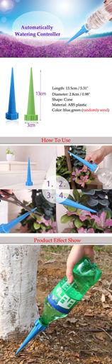 Immagine di 4pcs Garden Watering Drip Control Flower Pot Automatic Irrigation Tools Kit