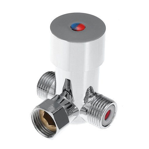 Picture of Thermostatic Mixing Valve Temperature Control for Touchless Sensor Water Faucet