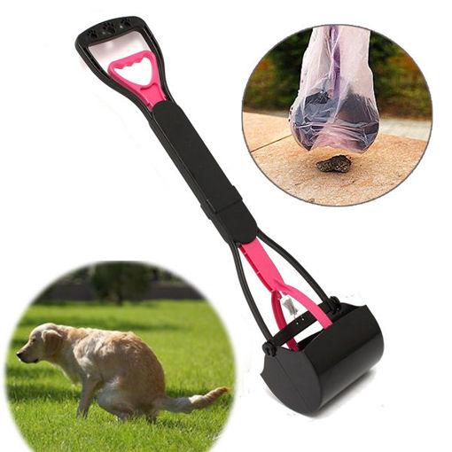 Picture of Pet Dog Waste Easy Pickup Pooper Scooper Walking Poo Poop Scoop Grabber Picker