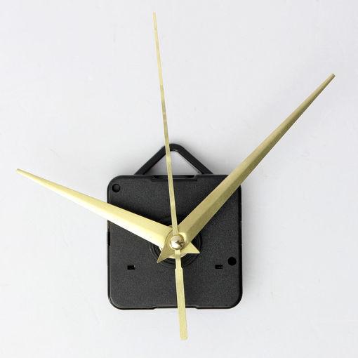 Immagine di DIY Gold Hands Quartz Clock Movement Mechanism Parts Tool Set