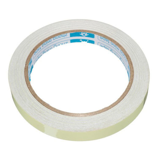 Picture of 12mmx10m Photoluminescent Tape Glow At Darkness Egress Safety Mark Bright Green