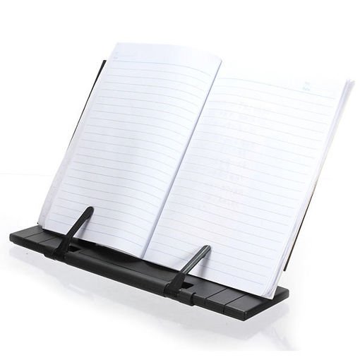 Picture of Black  Adjustable Portable Reading Book Stand Holder
