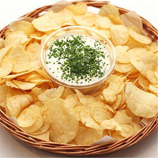 Immagine di Kitchen Microwave Apple Potato Vegetable Crisp Chip Slicer Maker
