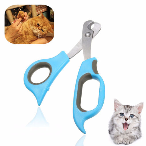 Immagine di Pet Dog Cat Rabbit Nail Clippers Trimmers Toe Paw Claw Grooming Scissors Cutter
