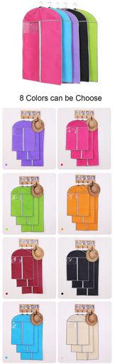 Immagine di Honana HN-DB30 Dustproof Suit Cover Clothes Storage Bags Dress Clothes Garment Protector Bags