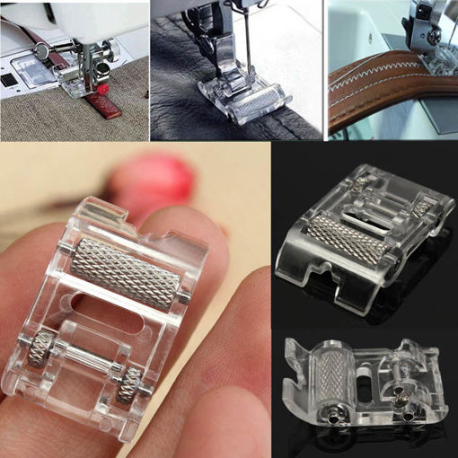 Immagine di Leather Roller Presser Foot Replacement For Brother Singer Sewing Machine