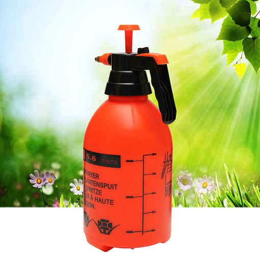 Immagine di 3L High Pressure Water Sprayer Chemical Spray Garden Pump Weeds Killer Tool