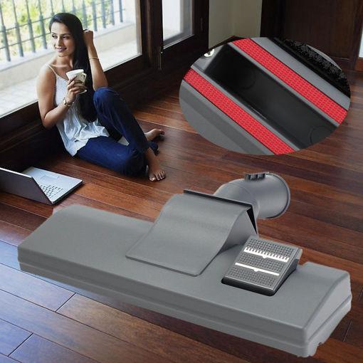 Immagine di Universal Carpet Vacuum Cleaner Slim Hoover Brush Head Hard Floor Tool with Wheels 32mm