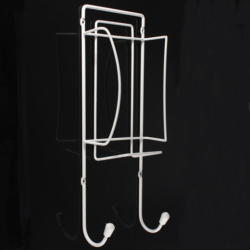 Immagine di Metal Ironing Board Rack Electric Iron Holder Household Bathroom Shelves