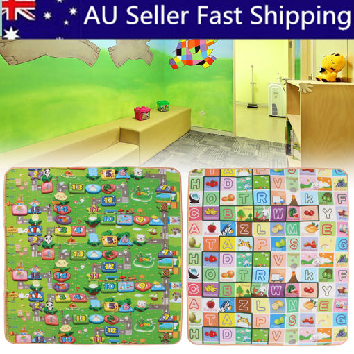Immagine di 20mm Thick XL Large Baby Kids Toddler Play Mat Tent
